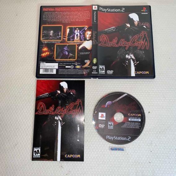 Devil May Cry Black Label Completo Original Playstation 2