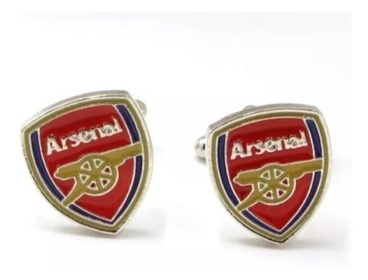 Mancuernillas Futbol Equipo Arsenal Camisa Vestir Elegante - Envío Gratis