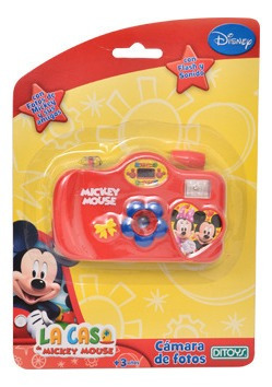 Camara De Fotos Mickey Colores Surtidos Full