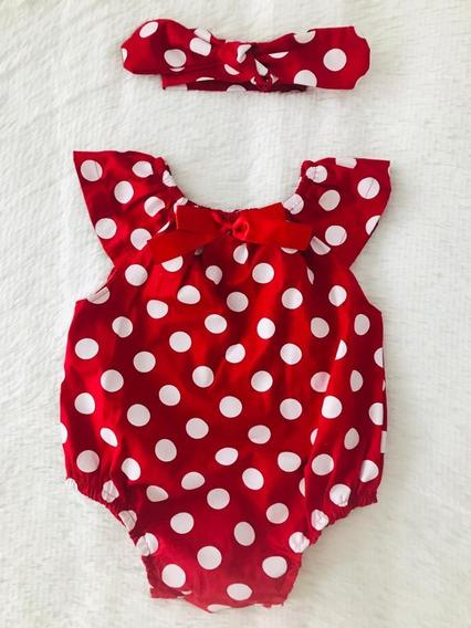 Body Bebê Menina Com Faixa - Macaquinho Blogueirinha