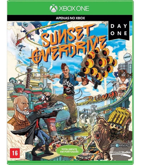 Sunset Overdrive Day One Edition Xbox One M.física Lacrado