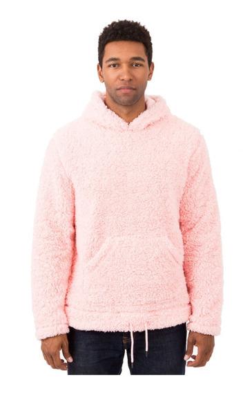 Sudadera 10deep Poodle Fleece Hoodie Pink Original