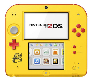 Nintendo 2DS Super Mario Maker Edition amarillo y rojo