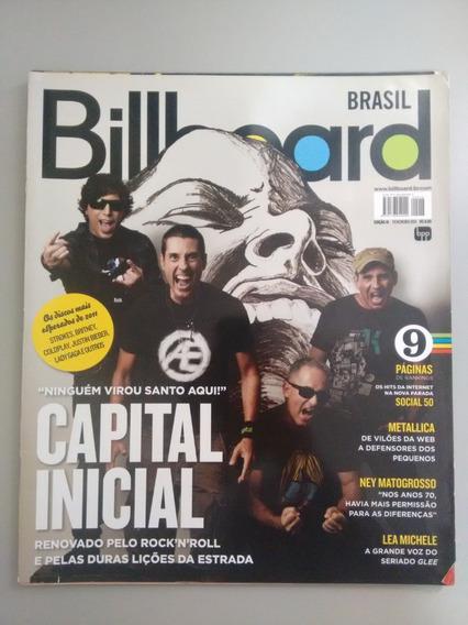 Revista Billboard Capital Inicial Metallica Nicki Minaj 068