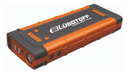 Imagen 1 de 6 de Arrancador Portatil Auto Cargador Celular Lusqtoff Pq500