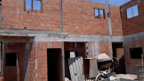 Sobrado Com 2 Dormitórios À Venda, 49 M² Por R$ 300.000,00 - Parque Novo Oratório - Santo André/sp - So3985