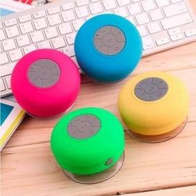 Caixa De Som Bluetooth Para Banheiro Com Ventosa Kit Com 4