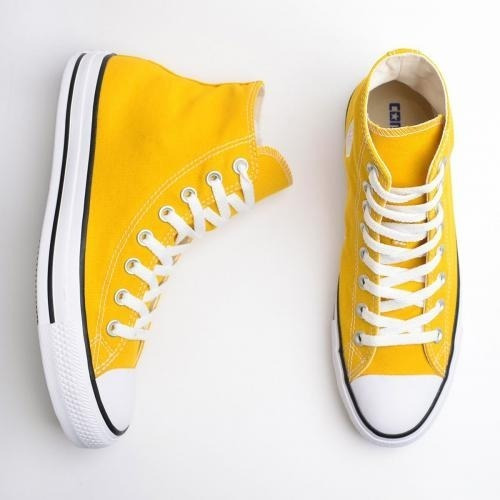 Tenis Converse All Star Ct Core Hi Bota Amarelo Minério