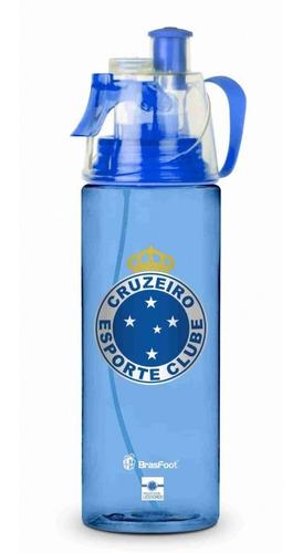 Squeeze Garrafa Borrifadora Academia Cruzeiro Azul 500ml