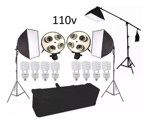 Estudio Kit Iluminação Dslr D Fotografia Pk-sb03 110