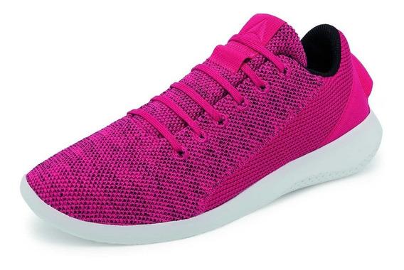 Tenis Reebok Original Para Dama Cn2326 Color Fiusha