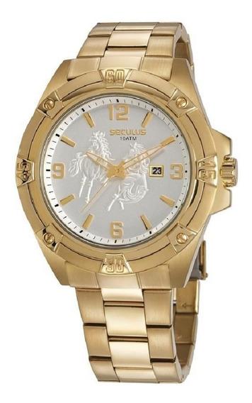 Relógio Seculus Masculino Country 20733gpsvda1