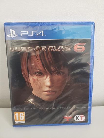 Jogo Playstation 4 - Dead Or Alive 6 - Lacrado Mídia Física