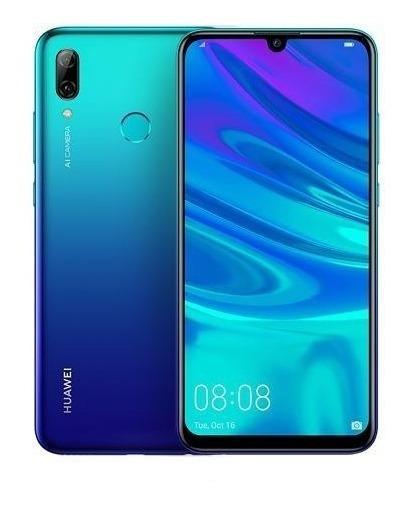 Celular Libre Huawei Psmart 3gb Blue Ds 16mp/13mp 4g 2019