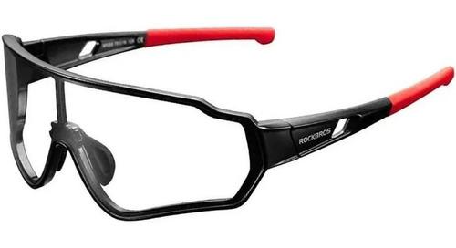 Imagem 1 de 4 de Óculos Ciclismo Rockbros Fotocromático Clip Grau Bike Mtb