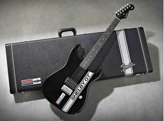 Fender Ford Mustang Shelby Gt Stratocaster Guitarra Y Funda