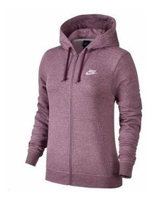 Jaqueta Feminina De Moletom Nike Hoodie Fz 853930
