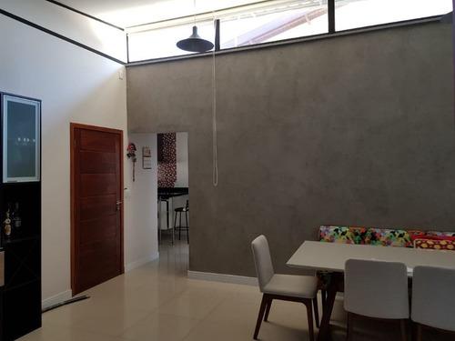 Casa Com 3 Dormitórios À Venda, 180 M² Por R$ 670.000,00 - Cascata - Paulínia/sp - Ca7379