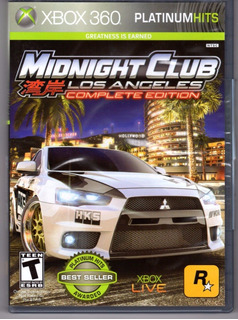 Midnight Club Los Angeles Xbox 360 Play Magic