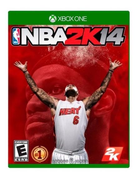 Jogo Nba 2k14 Xbox One Midia Fisica Nfe