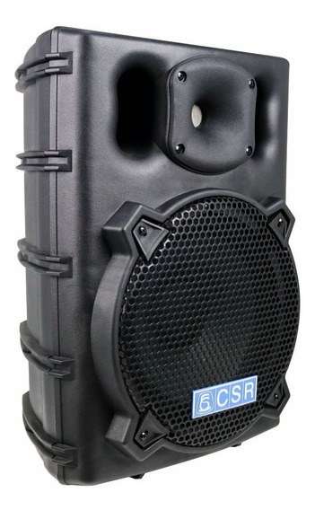Caixa Injetada Csr 2500 Passiva Falante 10 Titanio 150w Rms