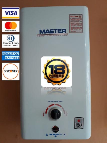 Calefon Instamatic Master Japones 26lts A Gas, Instalado