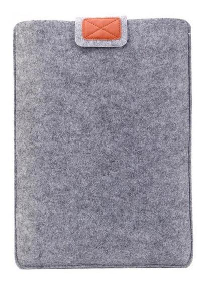 Capa Luva Protetora Cinza Para Notebooks De 13 Polegadas