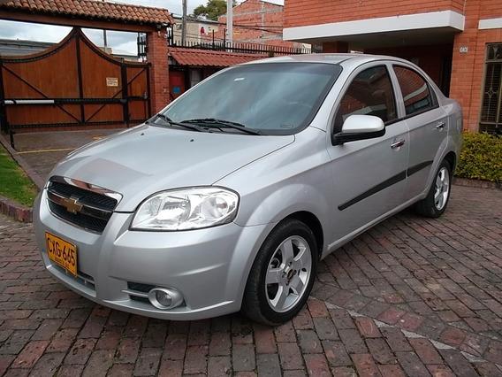 Chevrolet Aveo Emotion 1600 4 Puertas Segan Plata