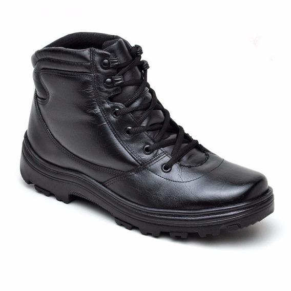 Coturno Militar Atron Shoes Preto 282 Frete Grátis