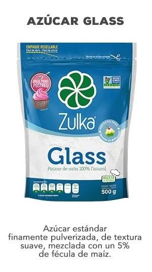 Azucar Glass Zulka 500 Gr
