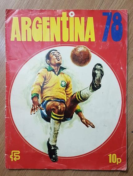 Album Figurinhas Copa Do Mundo Fifa Argentina 1978 Completo