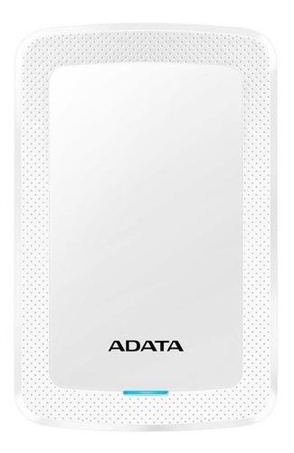 Imagen 1 de 3 de Disco duro externo Adata AHV300-1TU31 1TB blanco
