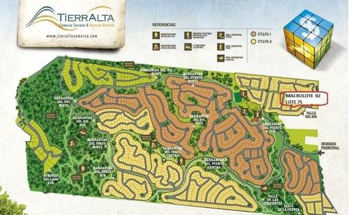 Imagen 1 de 5 de Venta Lote  Tierralta Comarca Serrana -