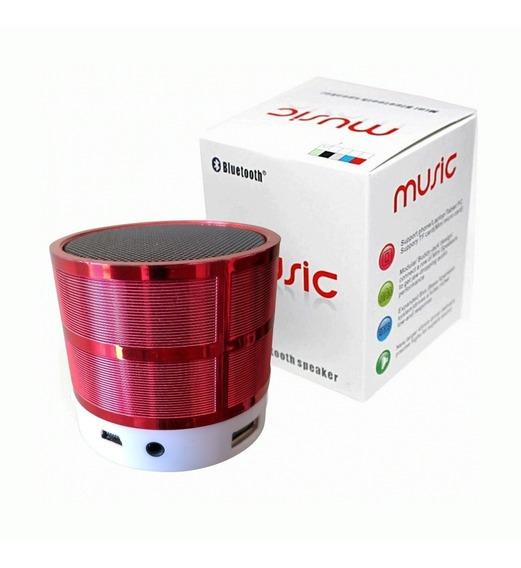 Mini Speaker Caixinha De Som Portátil Bluetooth / Usb / Sd