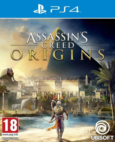 Assassins Creed Origins Ps4 Primaria Psn Midia Digital