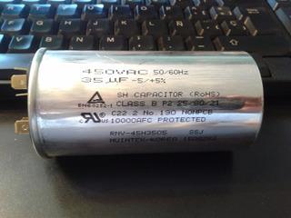 Capacitor Samsung Original Aire Acondicionado 35 Mf