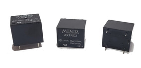 Rele Metaltex Ax1rc2 12v 15a 5 Pinos (10 Peças )
