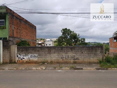 Terreno À Venda, 400 M² Por R$ 320.000 - Nova Ponte Alta - Guarulhos/sp - Te0782