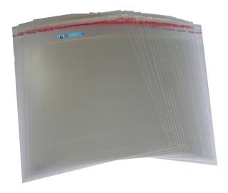 Sobre Celofán Con Solapa Adhesiva Cd Dvd Blu-ray 100 Und Mp3