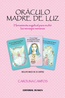 Libro Oráculo Madre De Luz + Mazo 25 Cartas. Carolina Campos