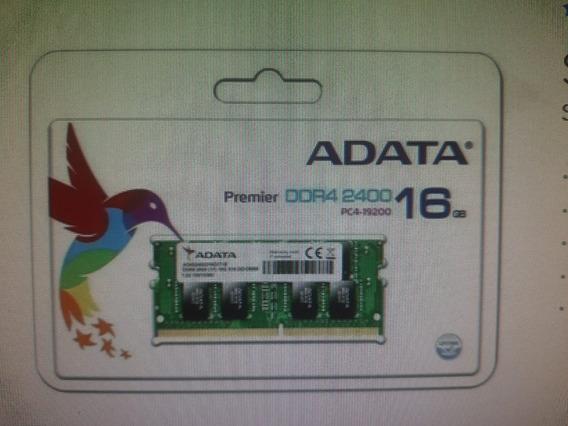 Memoria Ram 16 Gb 1x16gb Adata Ad4s2400316g17-s