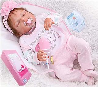 Muñecas Del Bebé Reborn Npkdoll Silicón Realista De Cuer
