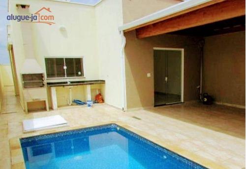 Imagem 1 de 10 de Casa Com Piscina Em Piracicaba 03 Dormitórios, 01 Suíte E Closet, 02 Salas ,área De Luz . - Ca3519