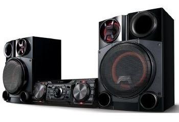 Mini System Lg 1800w Usb Mp3 Bluetooth - Cm8360.abrallk