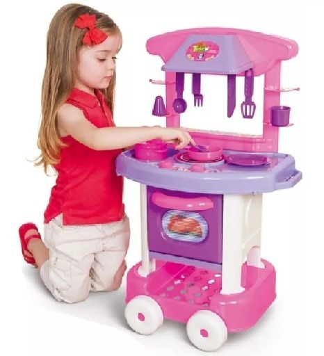Mini Cozinha Infantil Completa Play Time Da Cotiplas