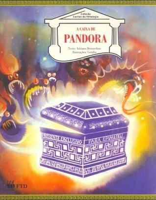 Livro A Caixa De Pandora Adriana Bernardino Contos Mitologia