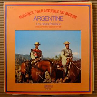 Vinilo Argentina: Musica Folklorica Del Mundo