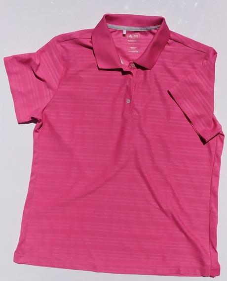 Remera Chomba adidas Golf Original Rosa Chicle Talle L