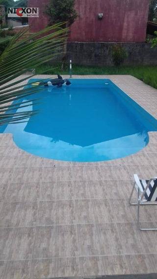 Sítio Com 3 Dormitórios Para Alugar, 222 M² Por R$ 600/dia - Jaraguá - São Sebastião/sp - Si0002