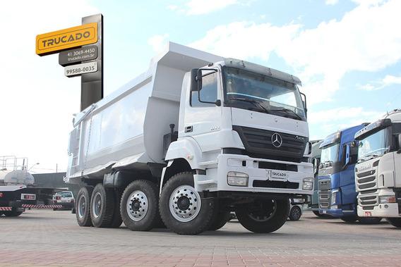 Truck Mb 4144 Quarto Eixo Direcional Caçamba Pastre